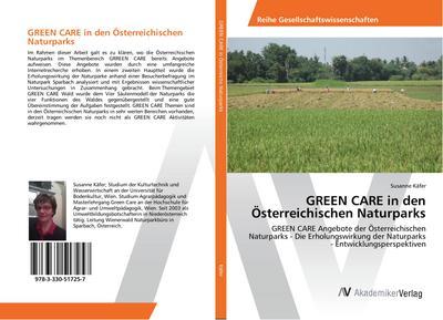 GREEN CARE in den Österreichischen Naturparks