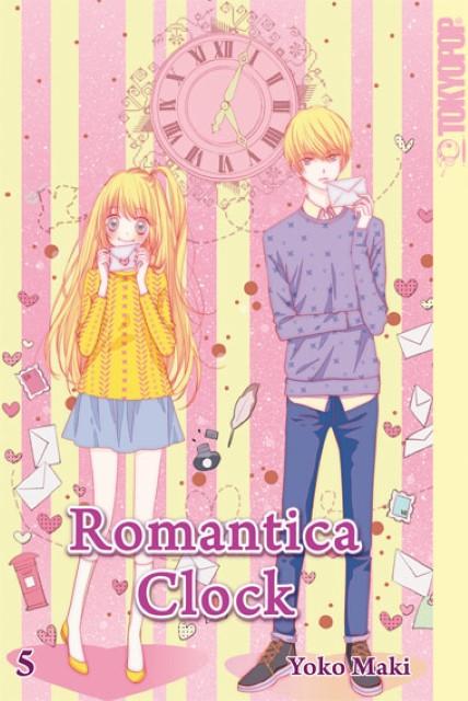 Romantica Clock 5 Yoko Maki 9783842011922