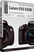 Canon EOS 650D: mit 12-seitigem Pocket Guide für unterwegs (Pearson Photo)