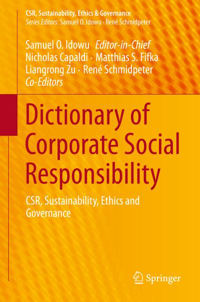 Dictionary of Corporate Social Responsibility