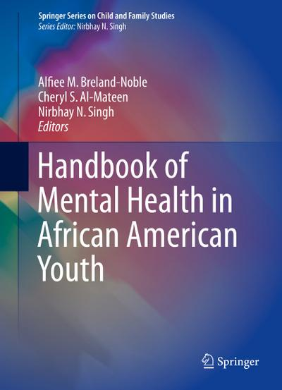 Handbook of Mental Health in African American Youth