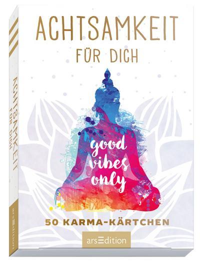 Achtsamkeitskärtchen: Achtsamkeit für dich - 50 Karma-Kärtchen