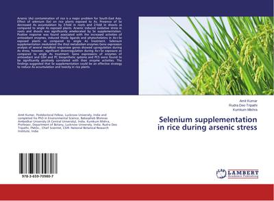 Selenium supplementation in rice during arsenic stress