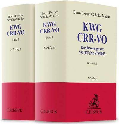 KWG, CRR-VO