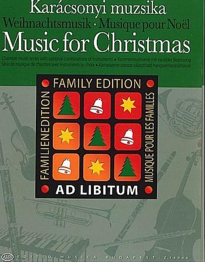Music for Christmas :for ensemble