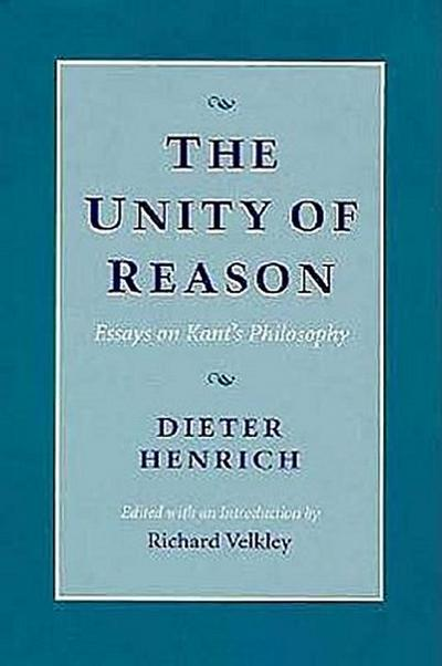 The Unity of Reason