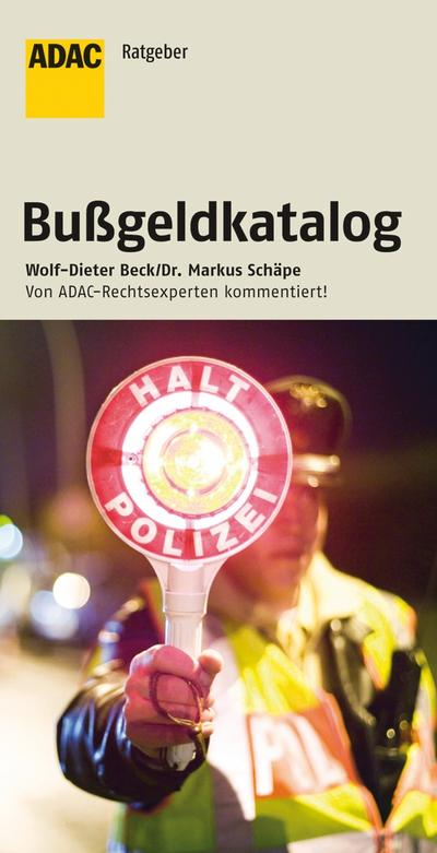 ADAC Bußgeldkatalog 15. Auflage