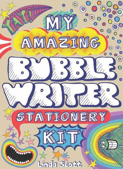 My Amazing Bubble Writer Stationery Kit [With 19 Stickers and 16 Envelopes and 8 Postcards and 8 Letter Sheets]