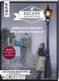 Escape Adventures - Sherlock Holmes: Das geheime Tagebuch (NEUE Codeschablone für mehr Rätselspaß)