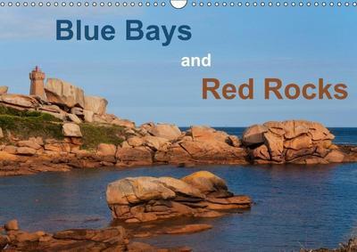 Blue Bays and Red Rocks (Wall Calendar 2019 DIN A3 Landscape)