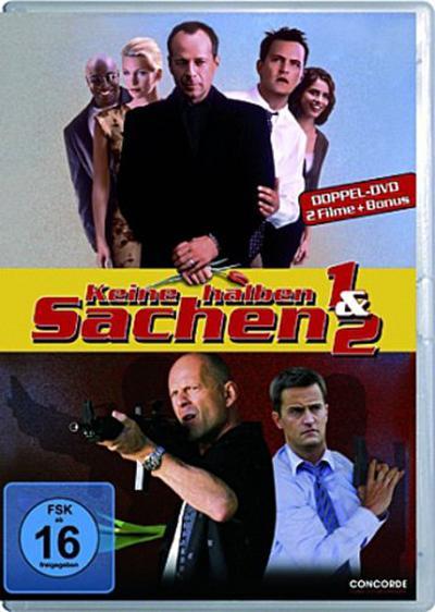 Keine halben Sachen 1 & 2, 2 DVDs, deutsche u. englische Version