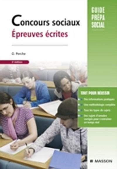 Concours sociaux Epreuves ecrites