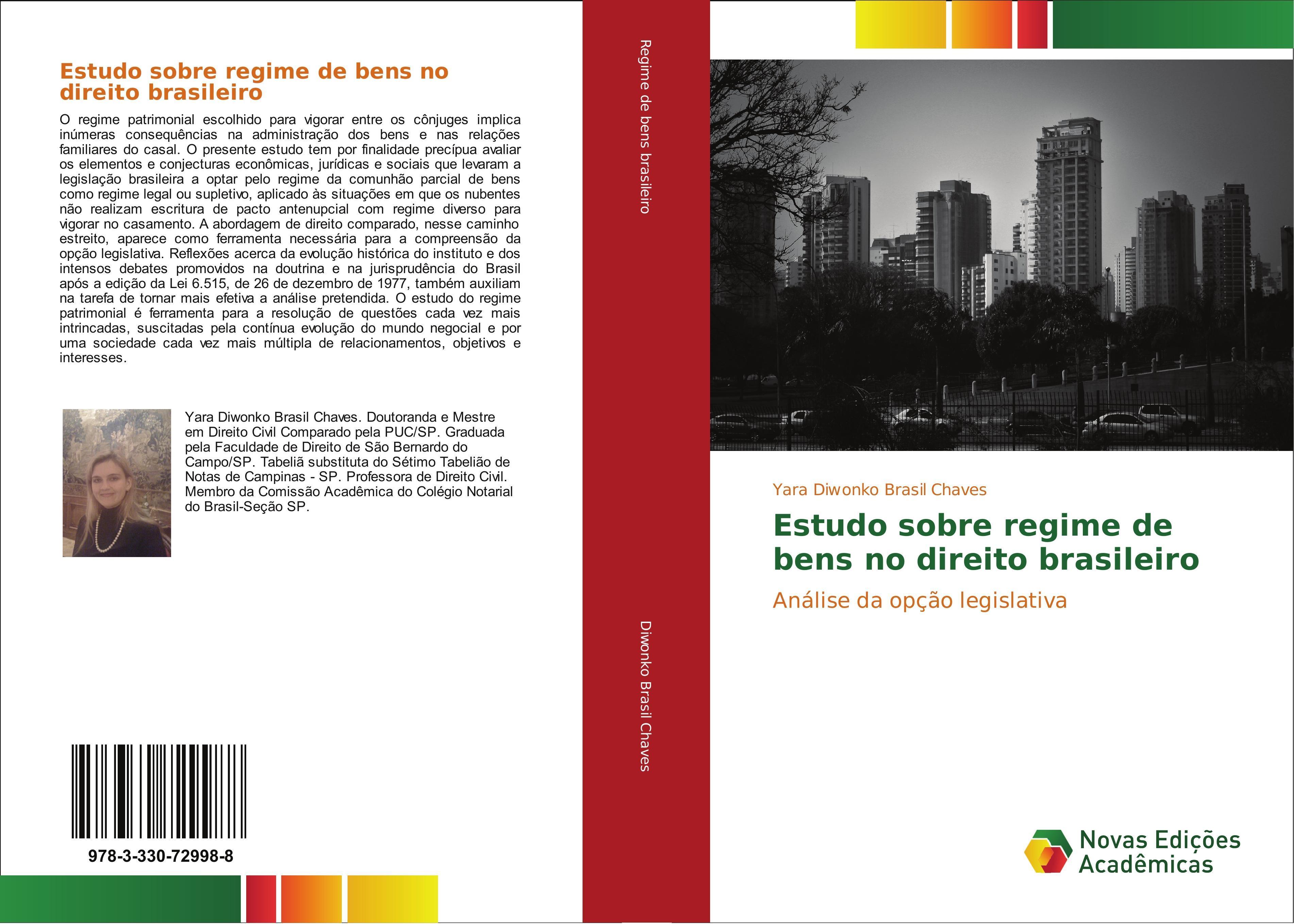Yara Diwonko Brasil Chaves / Estudo sobre regime de bens no di ...9783330729988