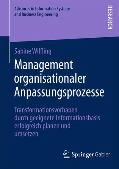 Management organisationaler Anpassungsprozesse