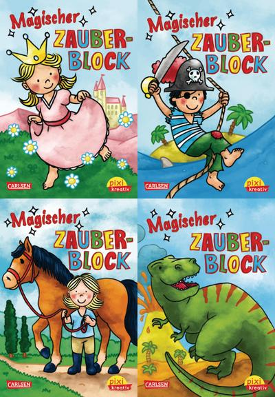 Pixi kreativ Serie Nr. 3: Magische Zauberblöcke (4x7 Exemplare)
