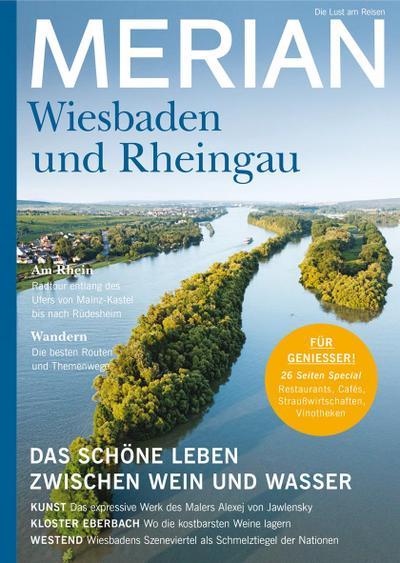 MERIAN Magazin Wiesbaden und der Rheingau 10/21