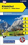 KuF Österreich Outdoorkarte 10 Kitzbühel 1 :  ...