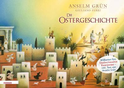 Die Ostergeschichte. Bildkarten fürs Erzähltheater Kamishibai - Verlag Herder - Karten, Deutsch, Anselm Grün, ,