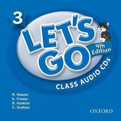 Let's Go 3 Class Audio CDs: Language Level: Beginning to High Intermediate. Interest Level: Grades K-6. Approx. Reading Level: K-4