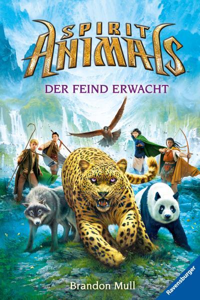 Der Feind erwacht; HC – Spirit Animals; Ill. v. Khakdan, Wahed; Übers. v. Ströle, Wolfram; Deutsch