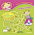 Meine Prinzessinnen-Welt: Labyrinthe; Malbücher und -blöcke; Ill. v. Schmidt, Sandra; Deutsch; Block, schw.-w. Ill.