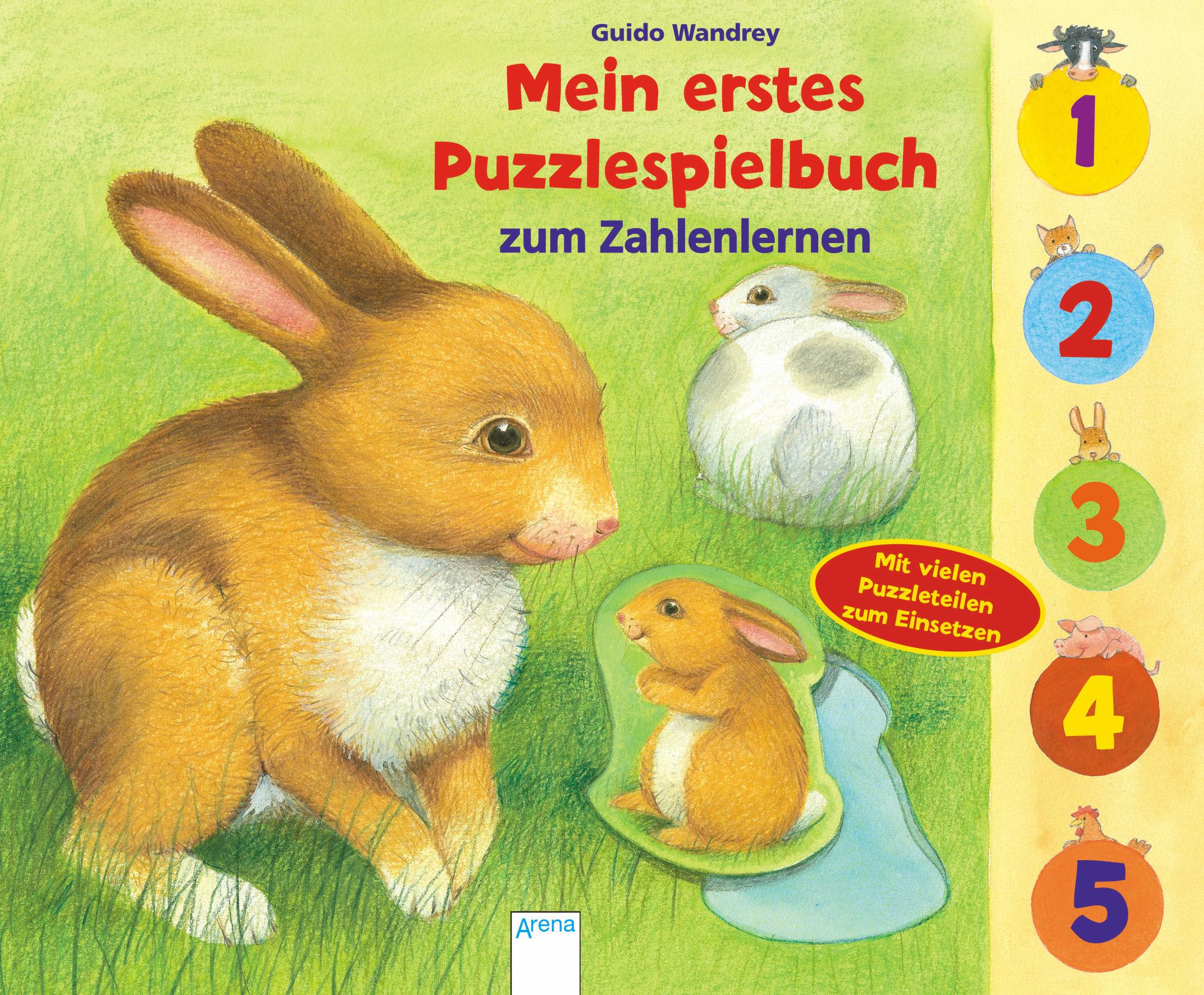 Mein erstes Puzzlespielbuch - Zahlen 9783401702704