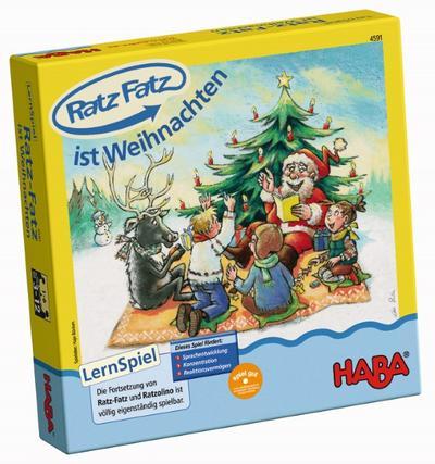 HABA 4591 - Ratz Fatz ist Weihnachten, Mitmach-Spiel