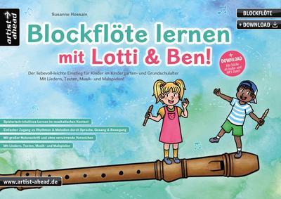 Blockflöte lernen mit Lotti & Ben!