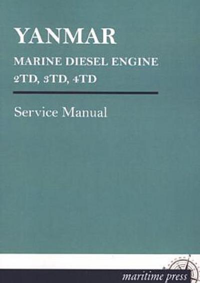 YANMAR MARINE DIESEL ENGINE 2TD, 3TD, 4TD