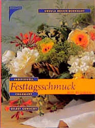 Festtagsschmuck mit Blumen