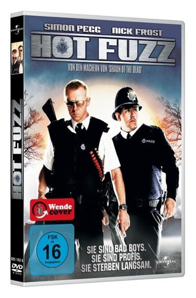 Hot Fuzz, 1 DVD, deutsche, englische u. russische Version