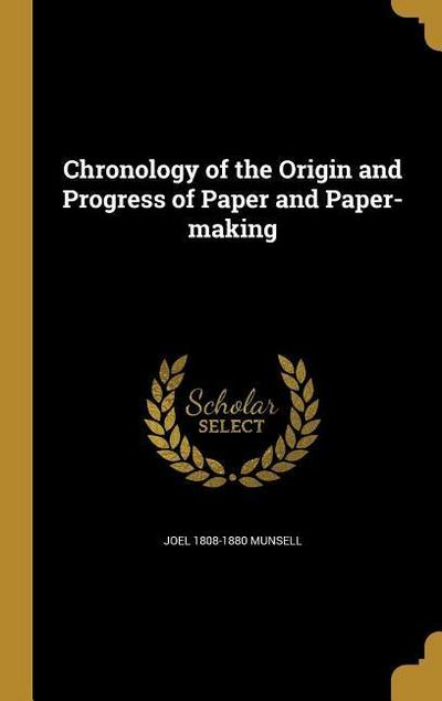 CHRONOLOGY OF THE ORIGIN & PRO