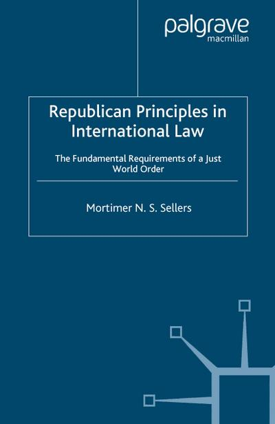 Republican Principles in International Law