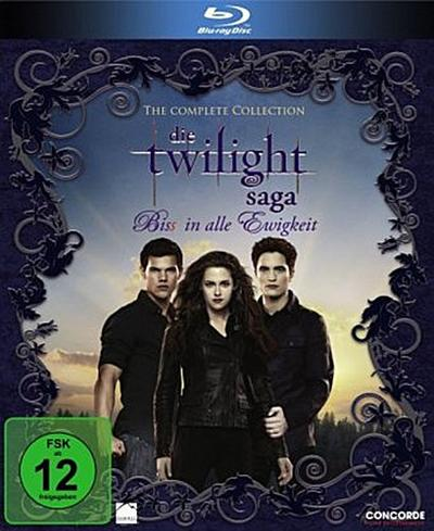 The Twilight Saga - Bis(S) in alle Ewigkeit. The Complete Collection. Blue-ray
