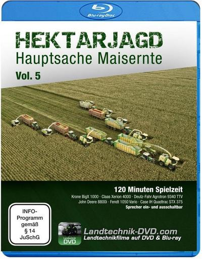 Hektarjagd - Hauptsache Maisernte. Vol.5, 1 Blu-ray