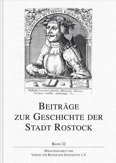 Beiträge zur Geschichte der Stadt Rostock 32