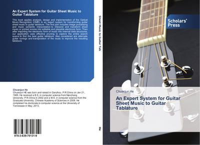 An Expert System for Guitar Sheet Music to Guitar Tablature