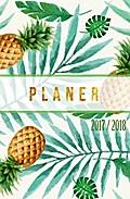 Schülerkalender 2017 2018 - Schulplaner 17/18 - Schülerkalender A5 - 1 Woche auf 2 Seiten