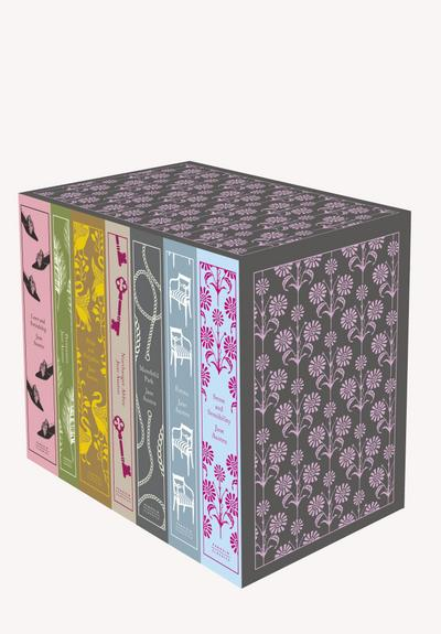 Jane Austen: The Complete Works 7-Book Boxed Set