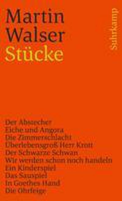 Stücke (suhrkamp taschenbuch)
