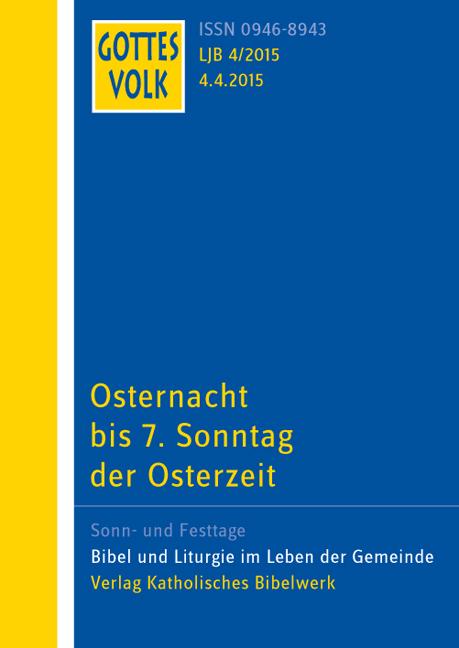 Gottes Volk LJ B4/2015 Franz-Josef Ortkemper