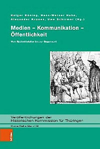 Medien – Kommunikation – Öffentlichkeit