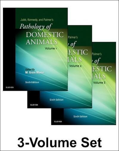 Jubb, Kennedy & Palmer's Pathology of Domestic Animals: 3-Volume Set