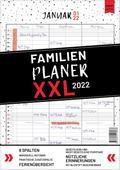 XXL Familienplaner 2019 zum Aufhängen in DIN A3. Hochwertiger und übersichtlicher Familienkalender 2019 mit 3 bis 6 Spalten, plus einer Zusatzspalte. Wandkalender inklusive gesetzlicher und nicht-gesetzlicher Feiertage, Ferien und Zusatzinfos.