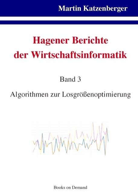 Hagener Berichte der Wirtschaftsinformatik Martin Katzenberger