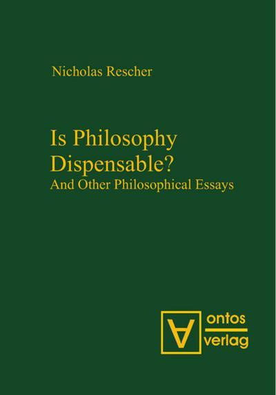 Is Philosophy Dispensable?