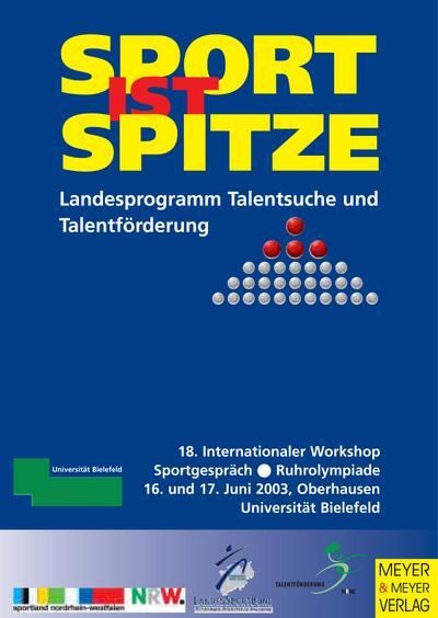 Sport ist Spitze. 18. internationaler Workshop