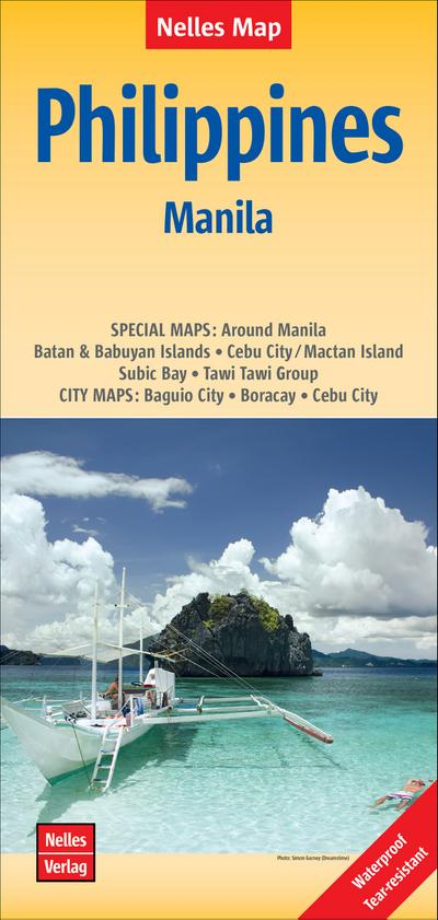 Nelles Map Philippines - Manila 1 : 1 500 000 / 1 : 17.500