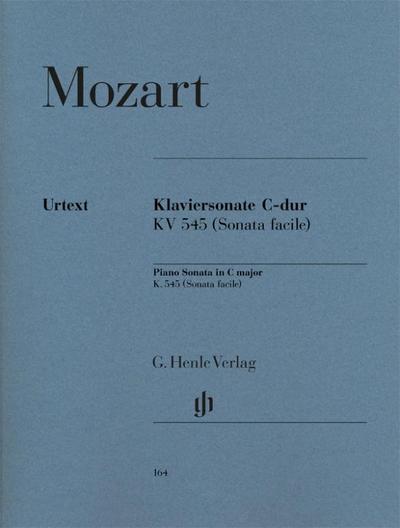 Klaviersonate [Facile] C-dur KV 545