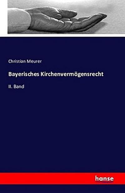 Bayerisches Kirchenvermögensrecht